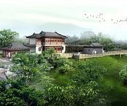 Asian Cultural Center and Chinese Gardens on Drawing Board